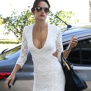 Alessandra Ambrosio Cleavage (2 Photos) – Leaked Nudes