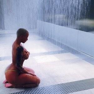 Hot Naked Celeb Amber Rose 002 pic