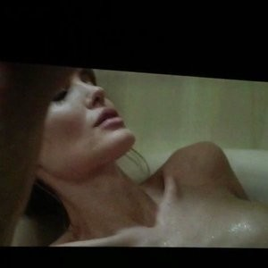 Angelina Jolie Topless (10 Photos + Video) - Leaked Nudes