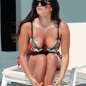 Casey Batchelor Areola Peek (2 Photos) – Leaked Nudes