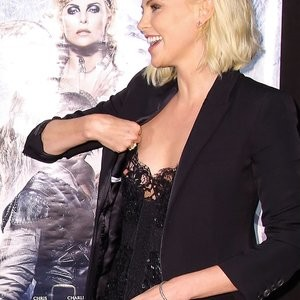 Charlize Theron Nipple Slip (6 Photos) – Leaked Nudes