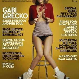 Best Celebrity Nude Gabi Grecko 002 pic