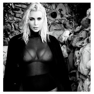 Kim Kardashian Cleavage (2 Photos) – Leaked Nudes