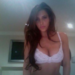 Kim Kardashian in Lingerie (2 Photos) – Leaked Nudes