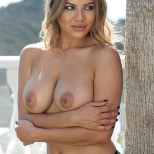 Lacey Banghard Topless (3 Photos) – Leaked Nudes
