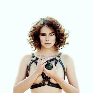 Lauren Cohan Topless (2 Photo) - Leaked Nudes