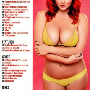 Famous Nude Lucy Collett 008 pic