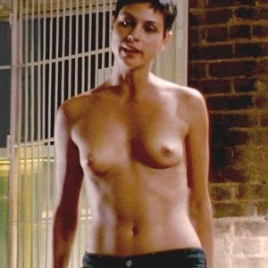 Morena Baccarin Naked – Death in Love (2008) HD 1080p - Leaked Nudes