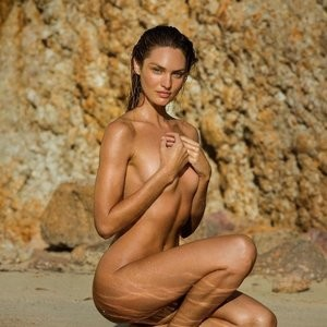 Outtakes: Candice Swanepoel Naked for Maxim (6 Photos) – Leaked Nudes