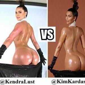 Poll: Battle of the Asses: Kendra Lust vs. Kim Kardashian - Leaked Nudes