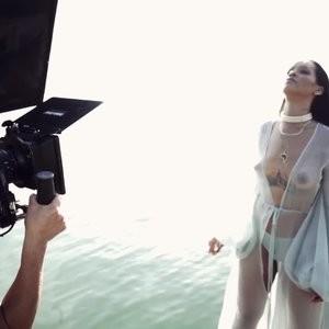 Rihanna See Through (13 Photos + Video) – Leaked Nudes