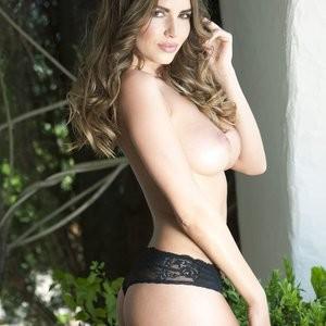 Sabine Jemeljanova in a Lingerie & Topless (4 Photos) - Leaked Nudes